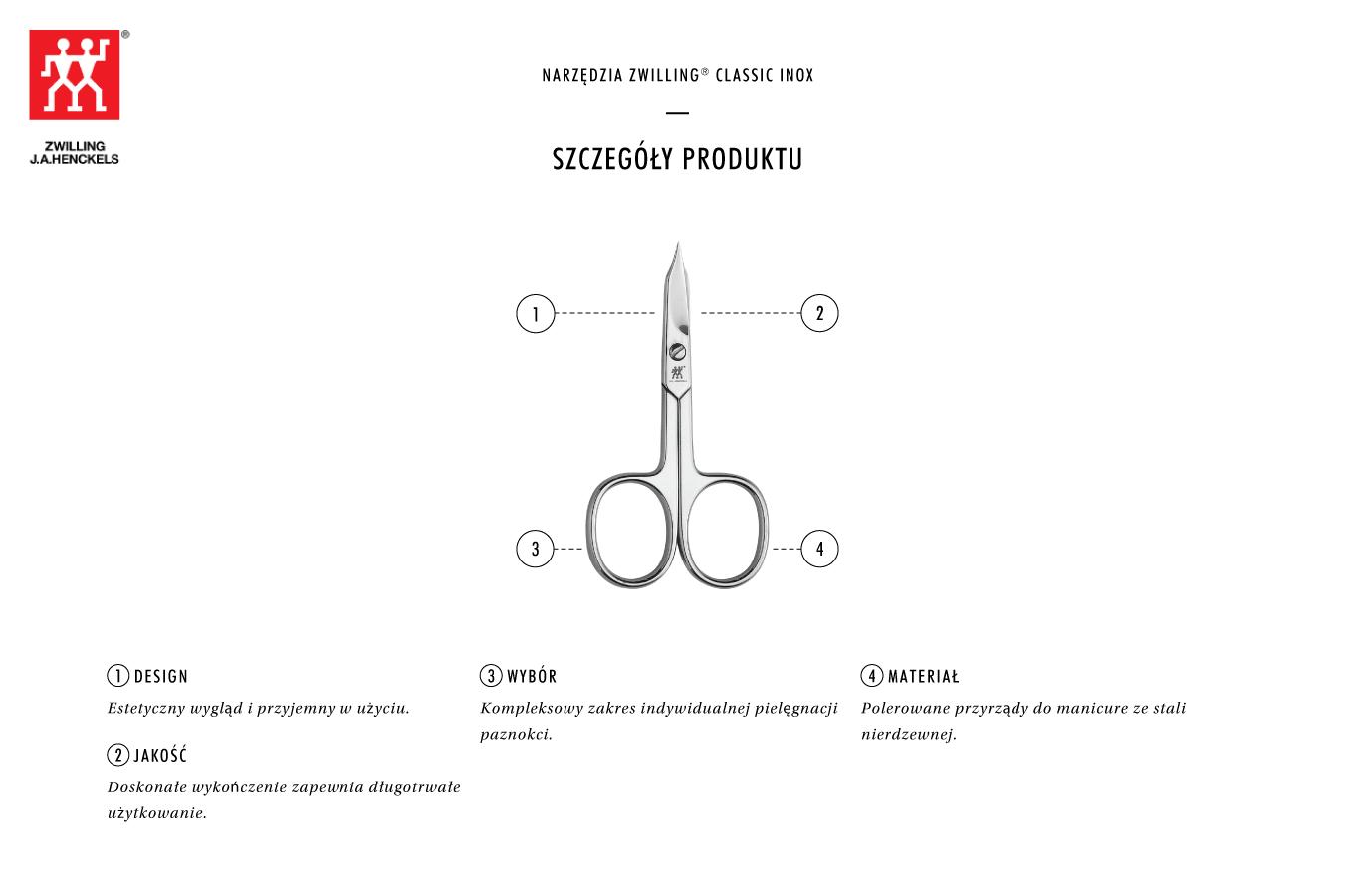 Dlaczego warto kupić polerowane uniwersalne nożyczki do paznokci Classic Inox®?