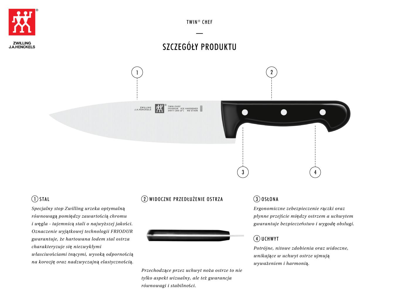 Dlaczego warto kupić nóż szefa kuchni Twin® Chef?