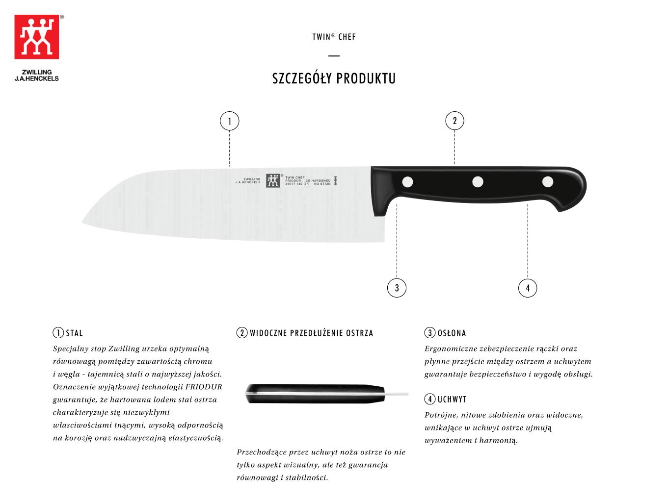 Dlaczego warto kupić nóż Santoku Twin® Chef?